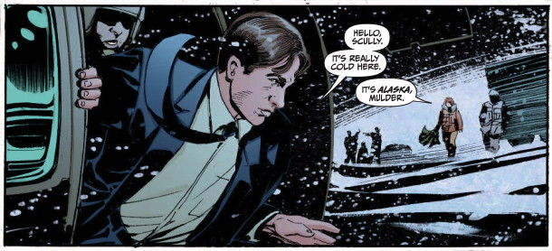 Comic Review: The X-Files/30 Days of Night (Issues 1-3 ...