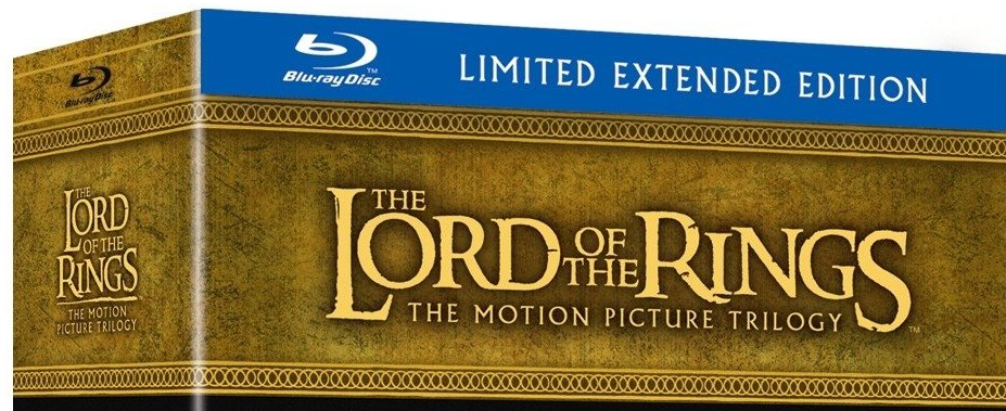The Lord of the Rings Trilogy Extended Edition Blu-ray