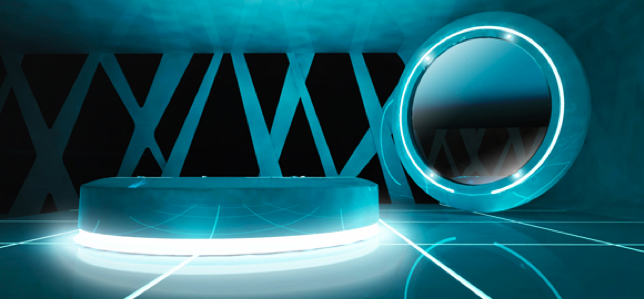 Tron Legacy Safe House