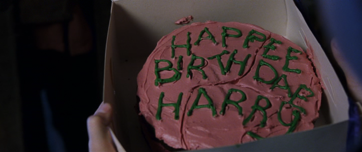 Harry Potter Birthday Cake From The Movie Image Inspiration of
